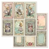Stamperia - Double-faced Paper Alice Cards SBB584