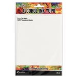 Tim Holtz Alcohol Ink Yupo Paper, Translucent 10PK TAC49722