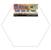 Ranger Tim Holtz Alcohol Ink Hard-Core Art Panels - 4-inch Hex Shaped TAC69737
