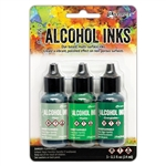 Ranger Tim Holtz Alcohol Ink Kit Mint/Green Spectrum TAK69652