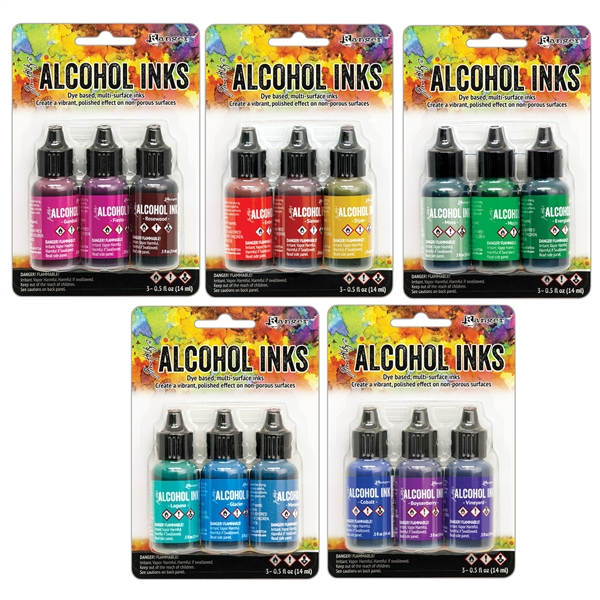 Ranger Tim Holtz Alcohol Ink Kit Bundle