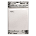 Ranger Tim Holtz Distress Cracked Leather Cardstock 4.25x5.5 TDA71310