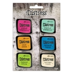 Ranger Tim Holtz Distress Color Enamel Pins - Set 1 - TDZS73437