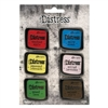 Ranger Tim Holtz Distress Color Enamel Pins - Set 5 - TDZS73475