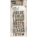 Stampers Anonymous Tim Holtz Layering Stencil - Crate THS089