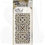 Stampers Anonymous Tim Holtz Layering Stencils - Flames THS091