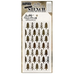 Stampers Anonymous Tim Holtz Layering Stencils - Pines THS096