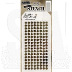 Stampers Anonymous Tim Holtz Layering Stencil - Dotted THS100