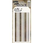 Stampers Anonymous Tim Holtz Layering Stencil - Shifter Mint THS112