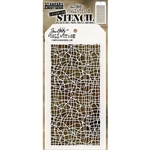 Stampers Anonymous Tim Holtz Stencil - Tangled THS139