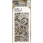 Stampers Anonymous Tim Holtz Stencil - Doodle Art 1 THS141