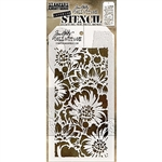 Stampers Anonymous Tim Holtz Stencil - Bouquet THS143