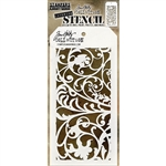 Stampers Anonymous Tim Holtz Stencil -  Ironwork THS148