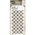 Stampers Anonymous Tim Holtz Stencil - Flurries THS151