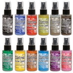 (LATE AUGUST PRE-ORDER) Ranger Tim Holtz Distress Oxide Spray - August 2019 Bundle