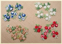 Pocket Full of Posies - Tri-bud Venise Lace Appliques