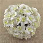 White Mulberry Paper Apple Blossoms SAA-360