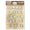 Stamperia HD Rubber Stamp Alphabet WTKCC159