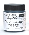 Studio 490 Wendy Vecchi Embossing Paste - Black