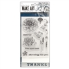 Ranger Wendy Vecchi MAKE ART Stamp, Die, Stencil Set - Bravo WVZ70078