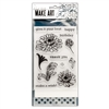 Ranger Wendy Vecchi MAKE ART Stamp, Die, Stencil Set - Thank You WVZ70108