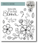 Wild Whispers Nicole Wright Fanciful Bloom Stamp Set
