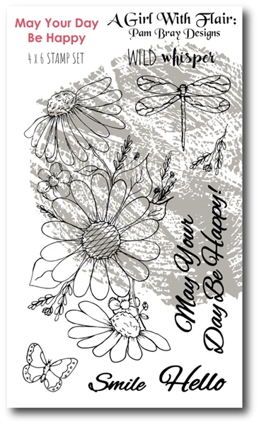 Wild Whispers Pam Bray Sensations Stamp Set
